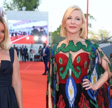 От кутюр: Кейт Бланшетт на церемонии закрытия Венецианского кинофестиваля