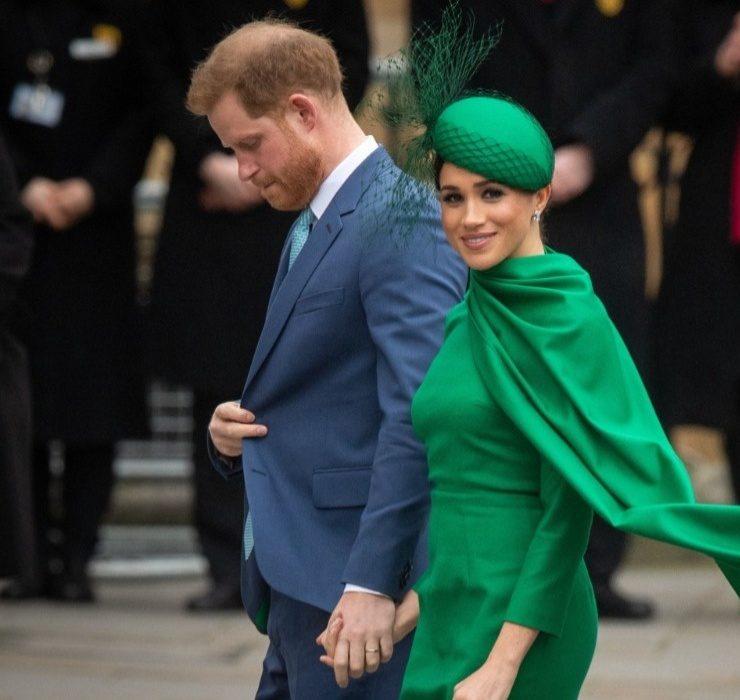 Видео дня: принц Гарри и Меган Маркл впервые появились на телевидении после переезда в США