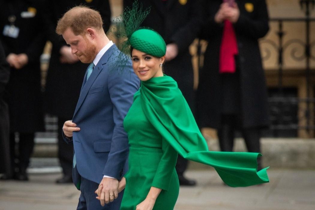 Відео дня: принц Гаррі і Меган Маркл вперше з'явилися на телебаченні після переїзду до США