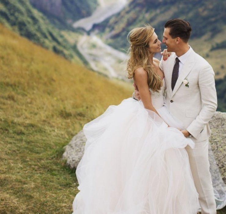 «Ти мій світ!» – Єлизавета Юрушева та Олександр Скічко відзначають 3-річчя шлюбу