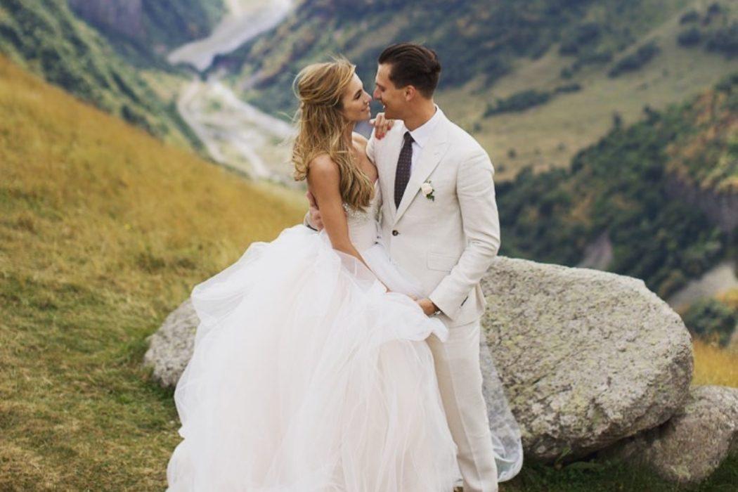 «Ты мой мир!» –Елизавета Юрушева и Александр Скичко отмечают 3-летие брака