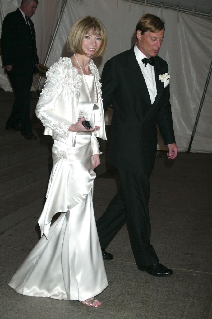 Анна Винтур разводится с мужем после 20 лет отношений