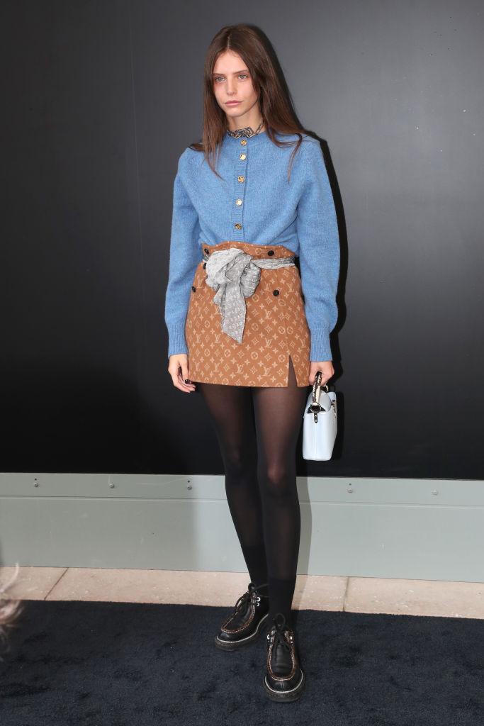 Наталья Водянова с мужем, Джорджина Родригес, Леа Сейду и другие на показе Louis Vuitton