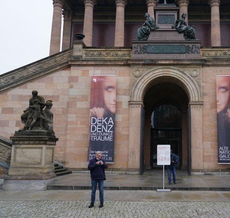 Музеи Берлина пострадали от масштабных актов вандализма