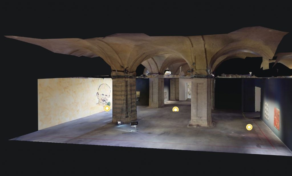 Мистецький арсенал представив віртуальну виставку Андрія Сагайдаковського