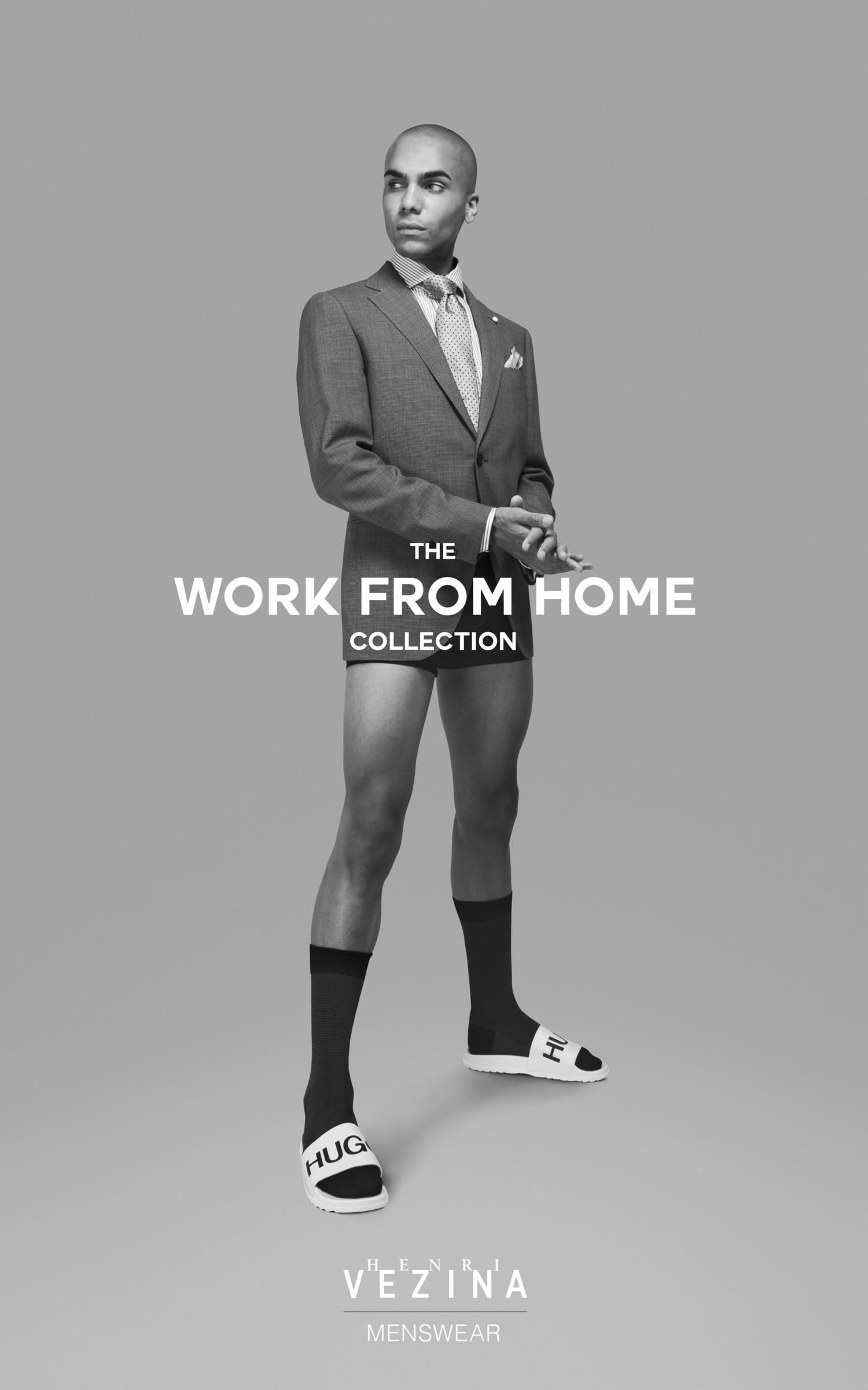 Канадский бренд Henri Vézina представил коллекцию одежды для дистанционной работы