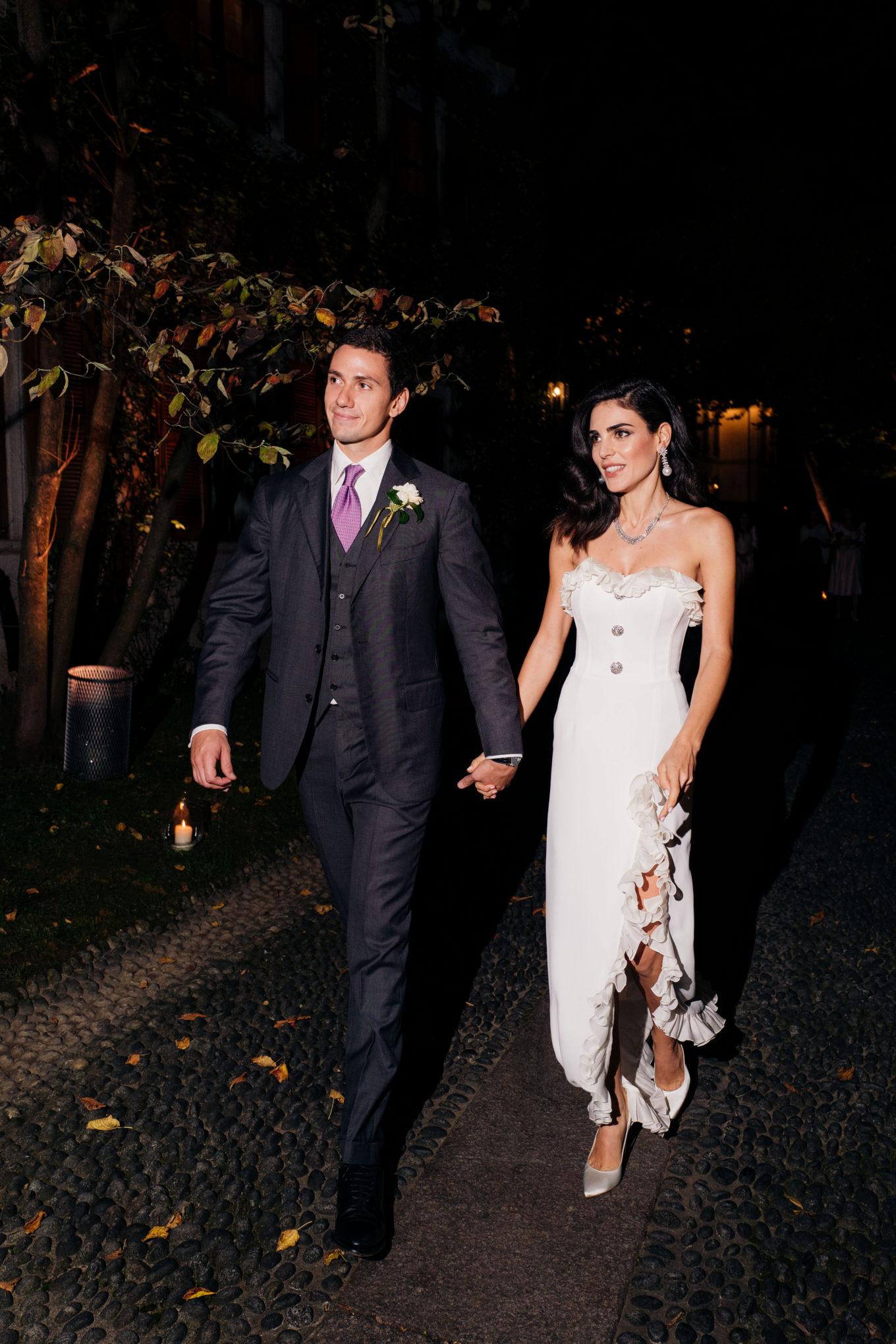 Wedding Day: младший сын Сильвио Берлускони Луиджи женился