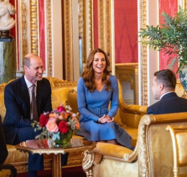 Володимир і Олена Зеленська зустрілися з Кейт Міддлтон і принцом Вільямом у Букінгемському палаці