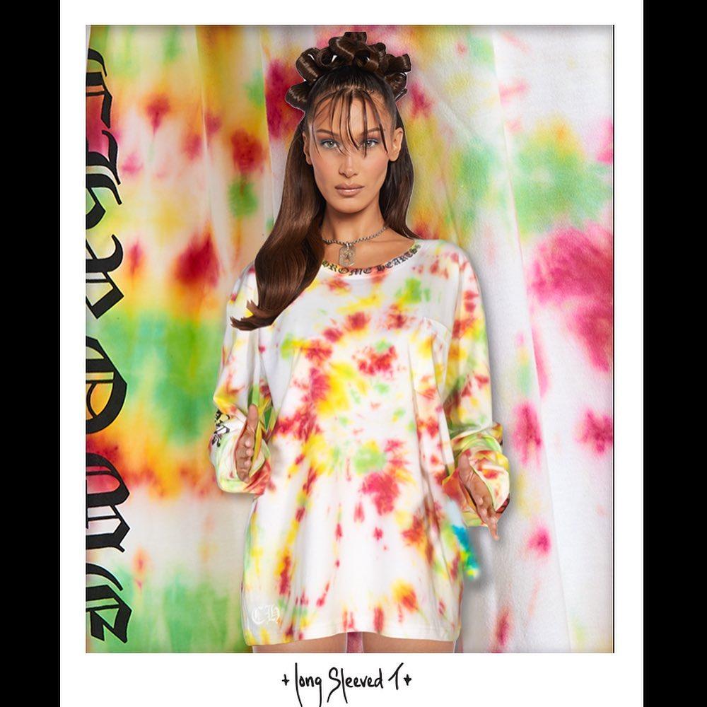 Розкупили за 5 хвилин: Белла Хадід випустила колекцію одягу з Chrome Hearts