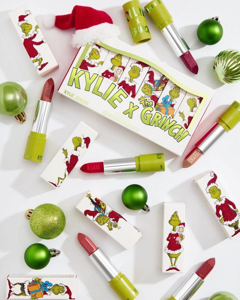 У стилі Грінча: новорічну колекцію косметики Кайлі Дженнер розкупили за кілька годин