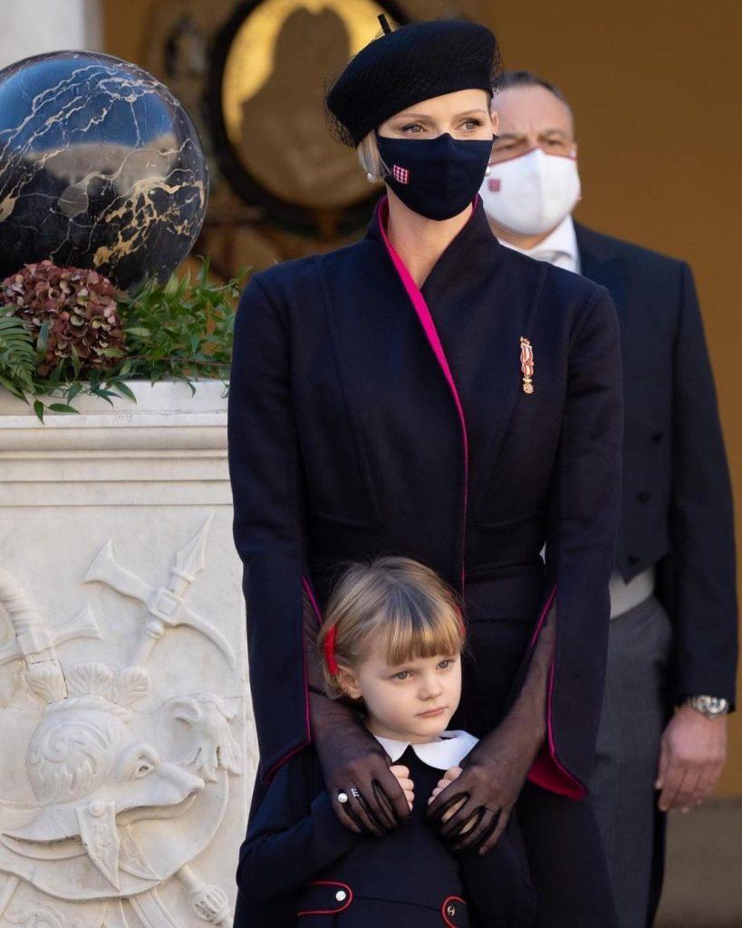 Княгиня Шарлін і князь Альбер II на Національному дні Монако