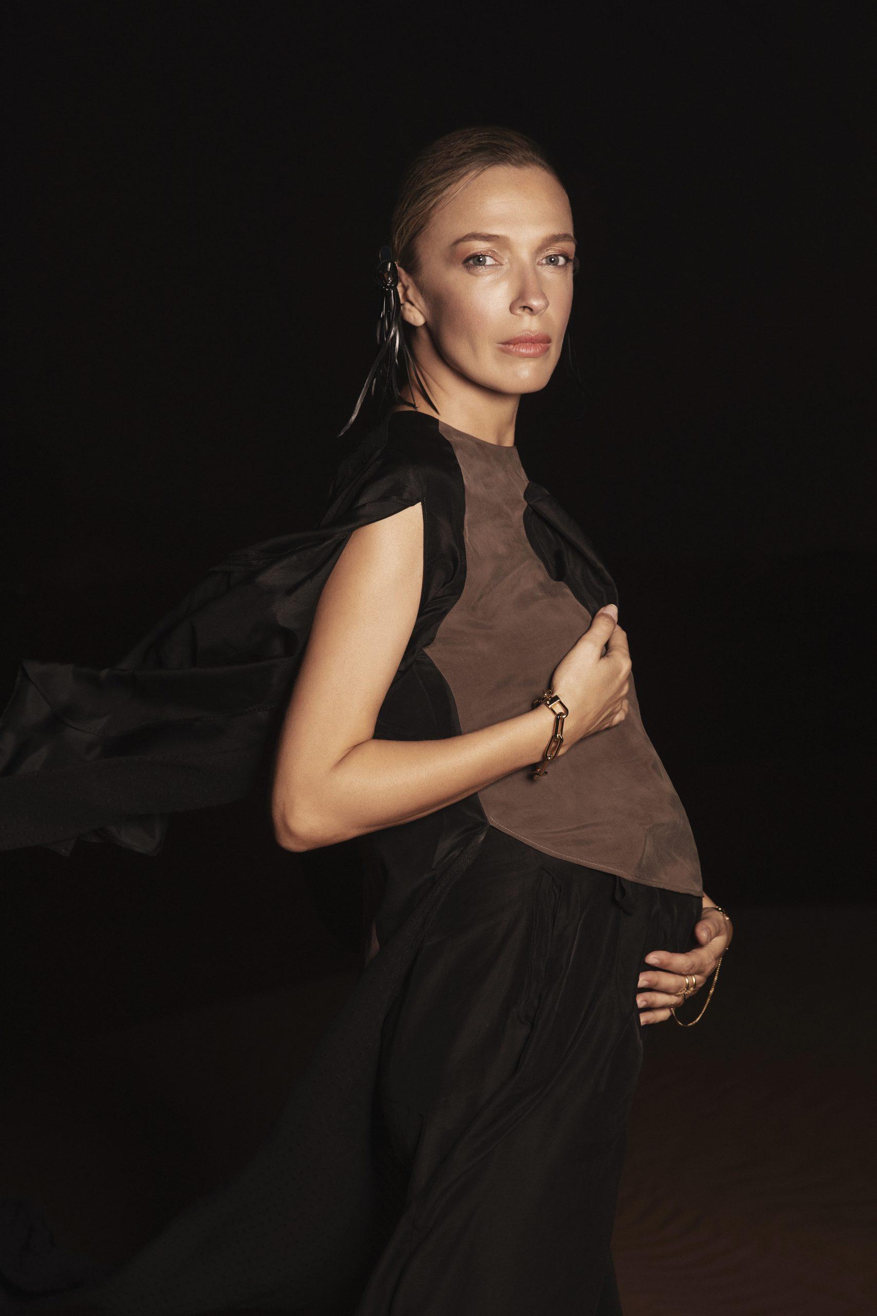 42-летняя Василиса Фролова впервые станет мамой
