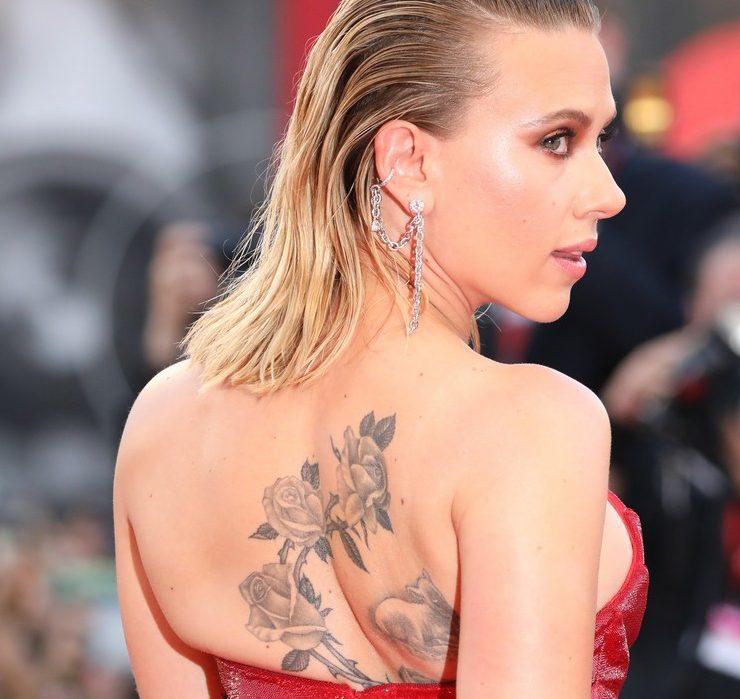 Ближе к телу: татуировки именинницы Скарлетт Йоханссон
