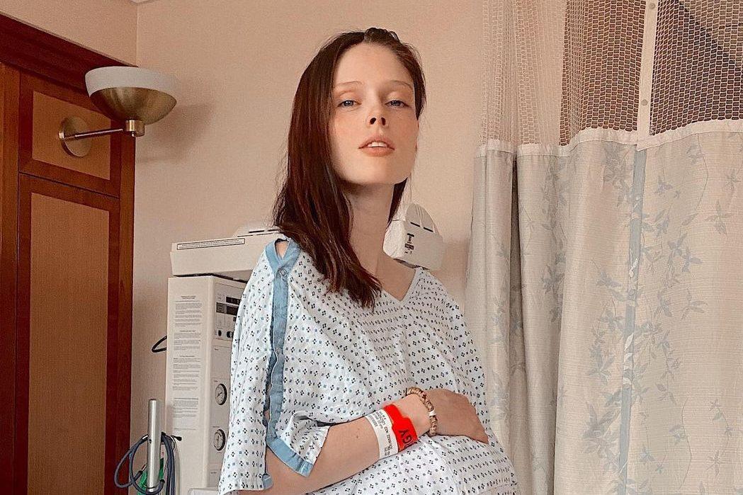 It's a girl! Коко Роша в третий раз стала мамой
