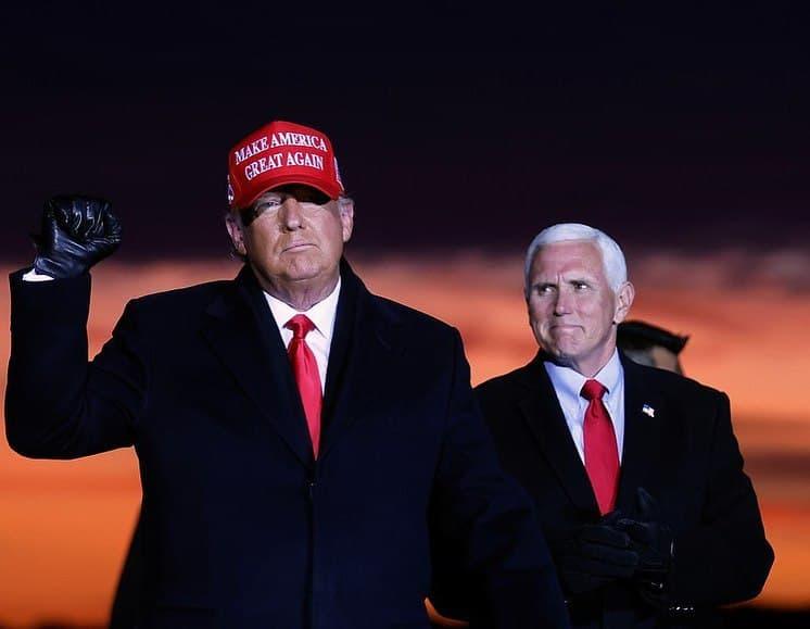 Дональд Трамп заявил о большом мошенничестве на выборах президента США