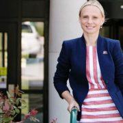 Украинская гимнастка Анна Бессонова впервые стала мамой