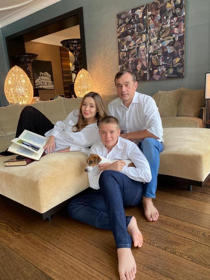 Зоя Литвин и Василий Хмельницкий стали родителями во второй раз