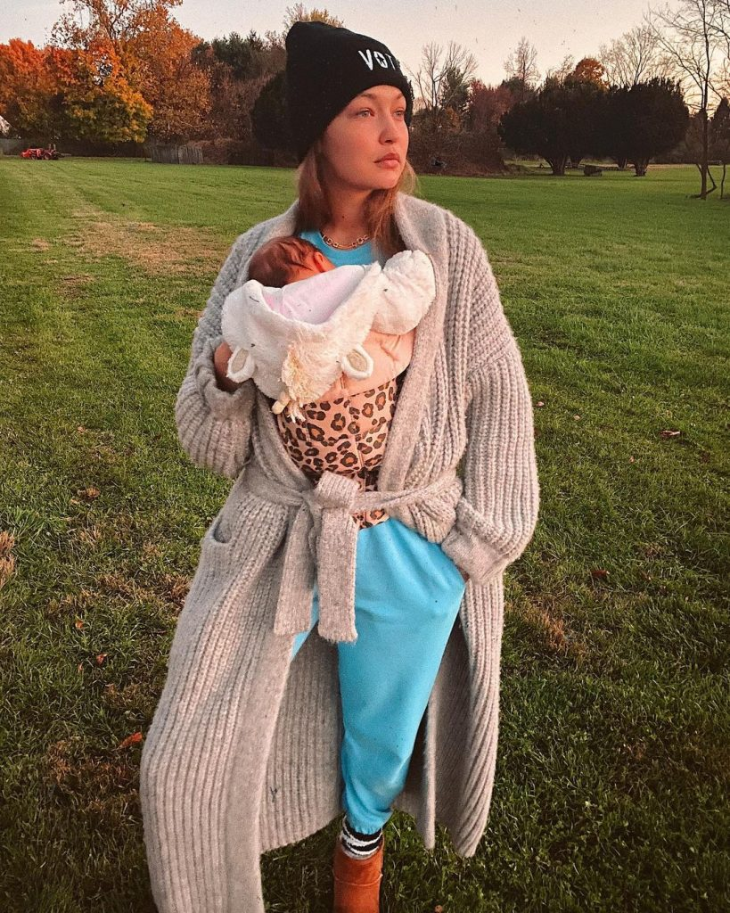 Бэби-бум 2020: Джиджи Хадид, Софи Тернер и другие звездные мамы