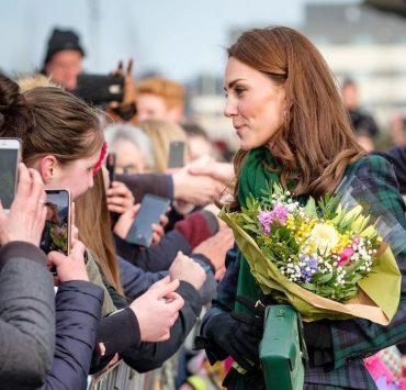 Кейт Миддлтон и принц Уильям отправились в тур по Великобритании