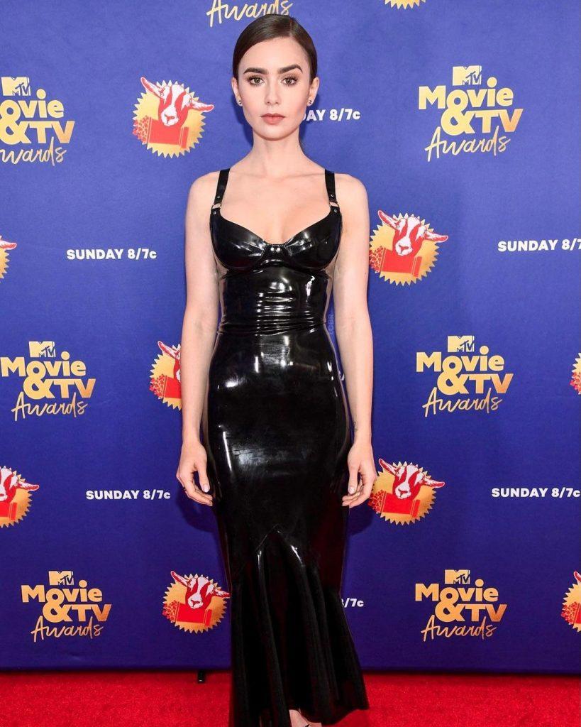 Лілі Коллінз, Ванесса Хадженс та інші зірки на червоній доріжці премії MTV Awards