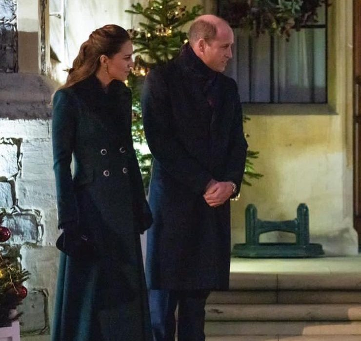 Королевская семья впервые с начала пандемии воссоединилась в Виндзорском замке