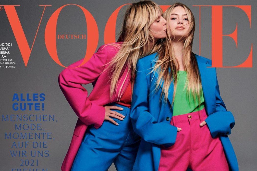 Дочки-матері: Гайді й Хелен Клум прикрасили обкладинку німецького Vogue