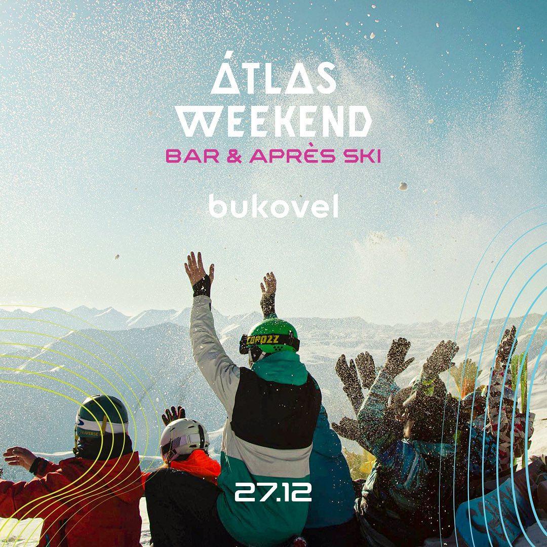 Вечеринки, шоу и street food: Atlas Weekend открывает новую зону в Буковеле