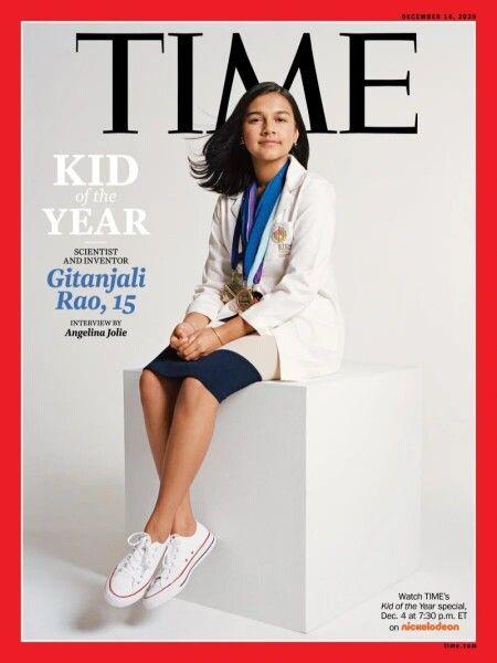 Журнал Time впервые выбрал ребенка года: кто она?