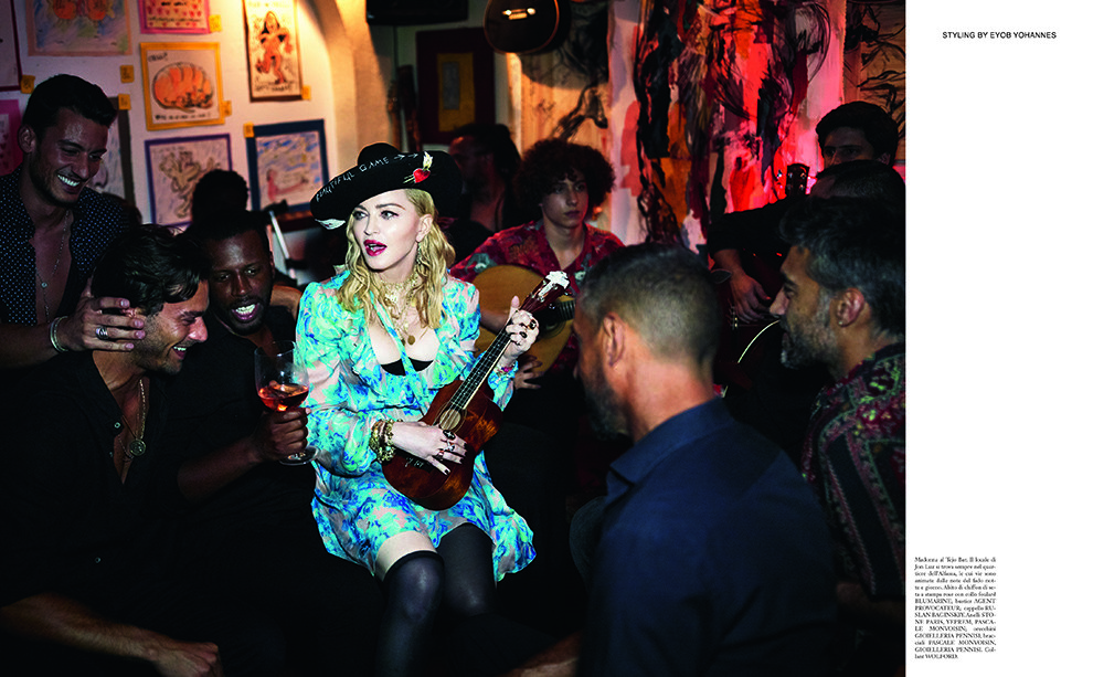 Носители: Мадонна в кепке Ruslan Baginskiy