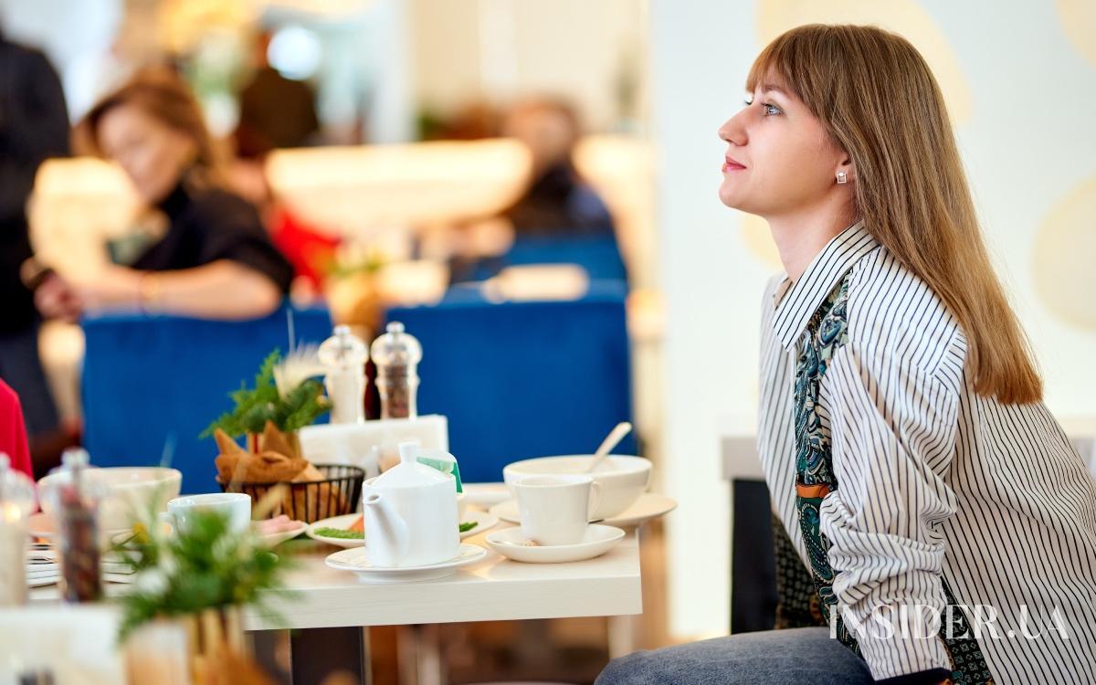 Пресс-завтрак с Сантой Димопулос