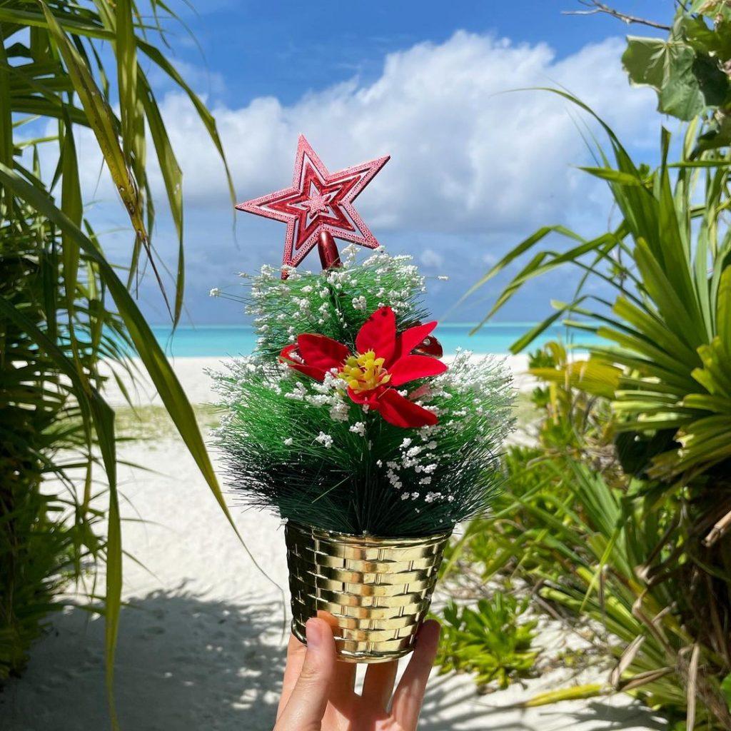 Бикини, серфинг и игристое: мальдивские будни Натальи Гоций