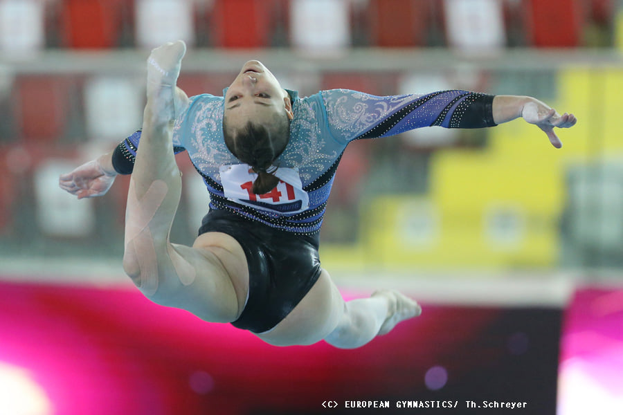 Жіноча збірна України виграла чемпіонат Європи зі спортивної гімнастики