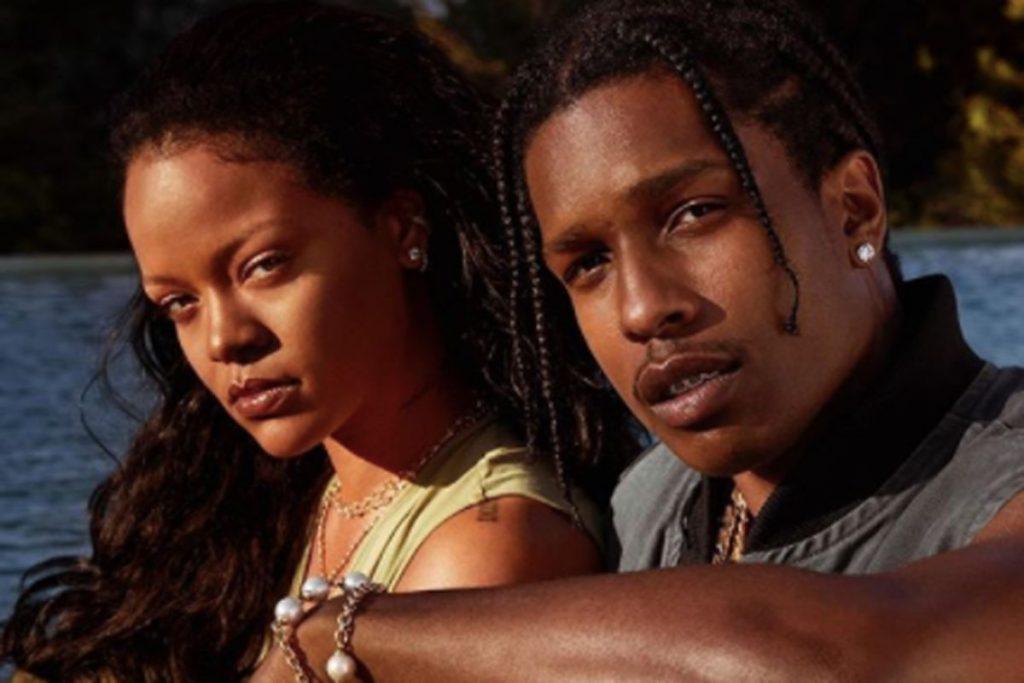 Рианна спровоцировала слухи о романе с рэпером A$AP Rocky