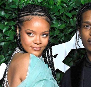 Ріанна спровокувала чутки про роман з репером A$AP Rocky