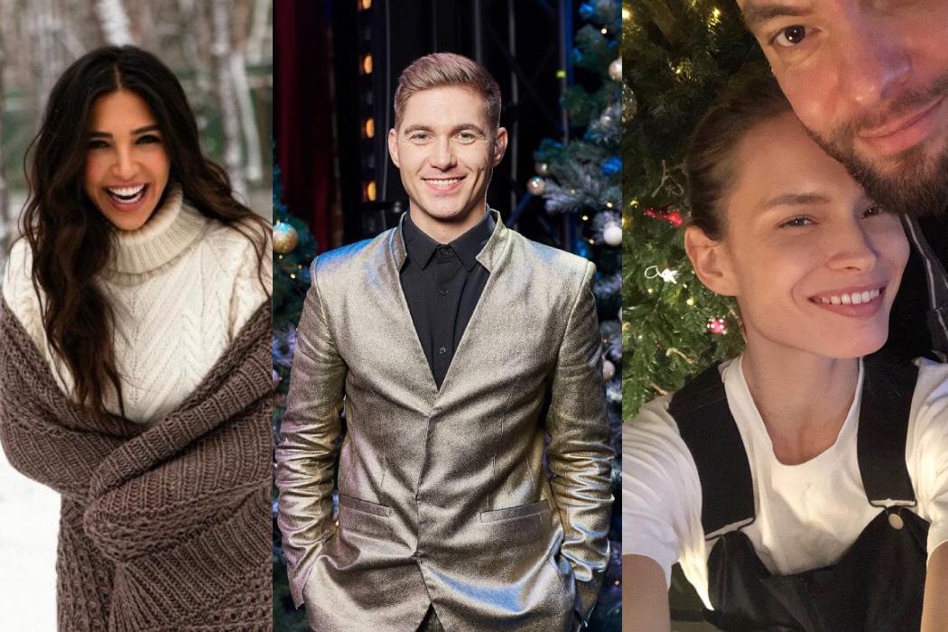 Санта Димопулос, Владимир Остапчук и другие селебрити делятся планами на Новый год и локдаун
