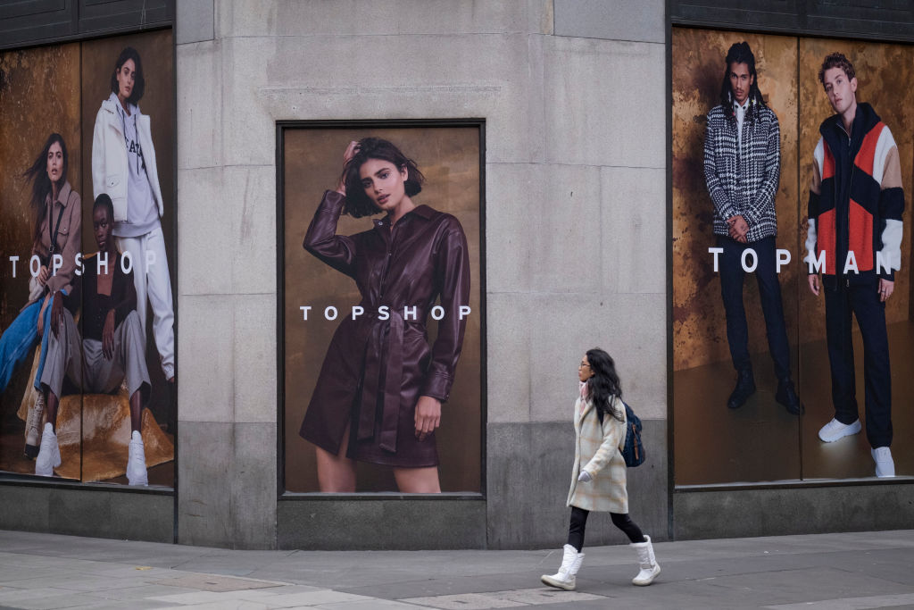 Компанія-власник бренда Topshop розпочала процедуру банкрутства