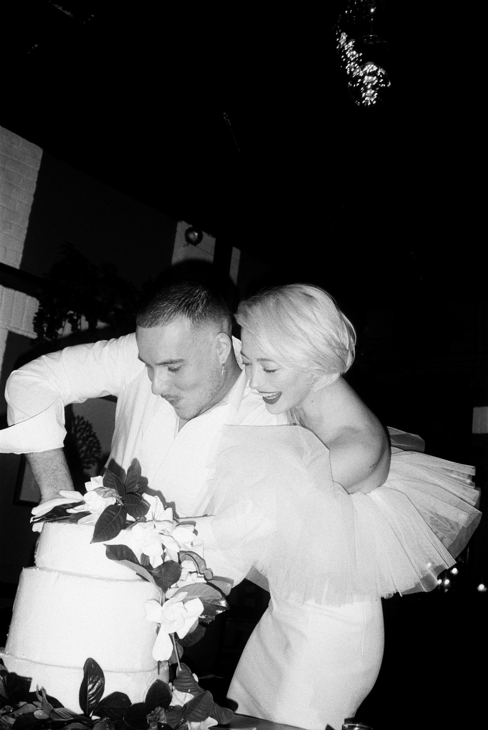 Пентхаус, десяток друзів і дві сукні: модель Каролін Вріланд вийшла заміж