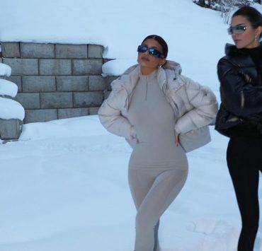 У засніжених горах: Кайлі та Кендалл Дженнер показали ідеальний день в Аспені