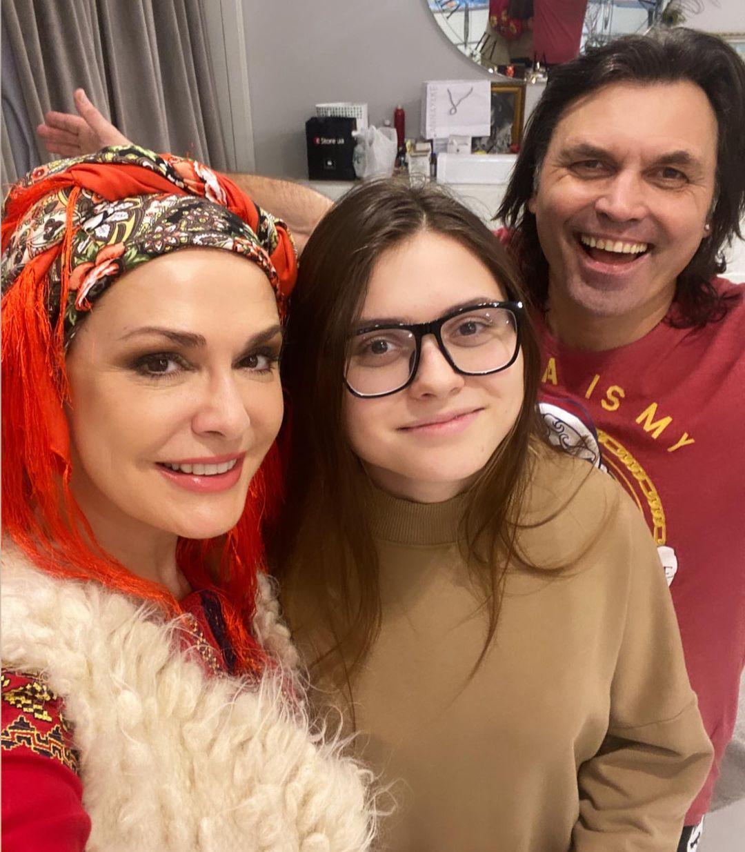 Щедрий вечір: як Катя Осадча, Аліна Байкова та інші селебріті відсвяткували Старий Новий рік