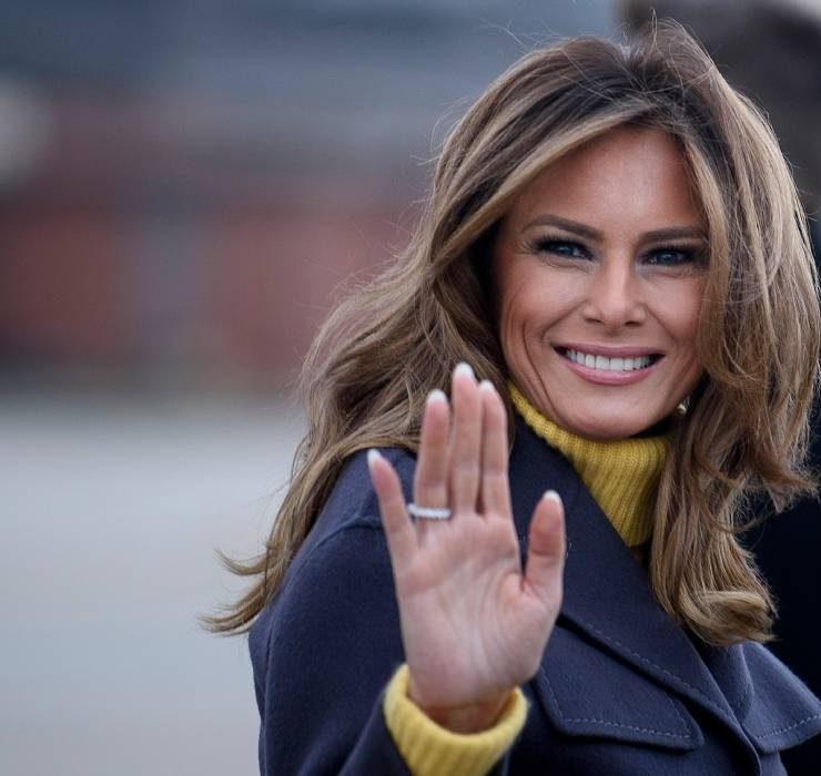 Меланія Трамп звернулася з прощальною промовою в якості першої леді США