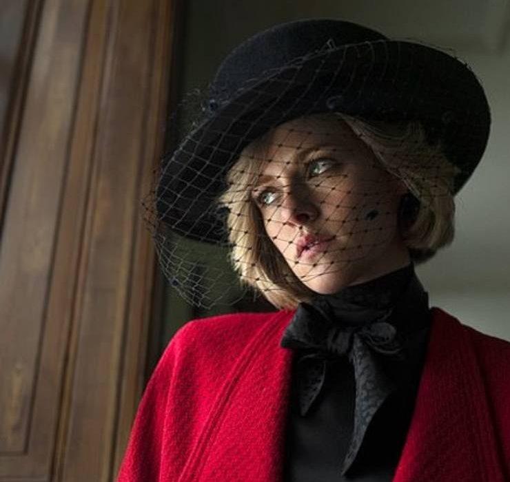 Кристен Стюарт перевоплотилась в принцессу Диану для съемок в новом фильме