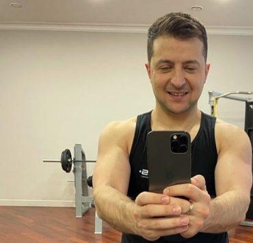 Физкульт-привет: Владимир Зеленский начал день рождения с тренировки