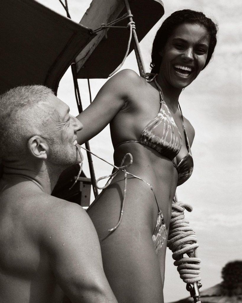 Hot! Тина Кунаки и Венсан Кассель отдыхают в Рио-де-Жанейро