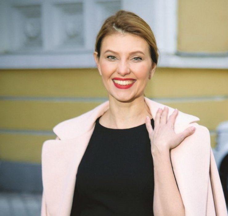 Первая леди Украины в нарядах от именинницы Кати Сильченко