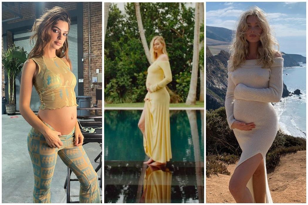 В ожидании чуда: Эмили Ратаковски, Карли Клосс и другие будущие мамы 2021-го