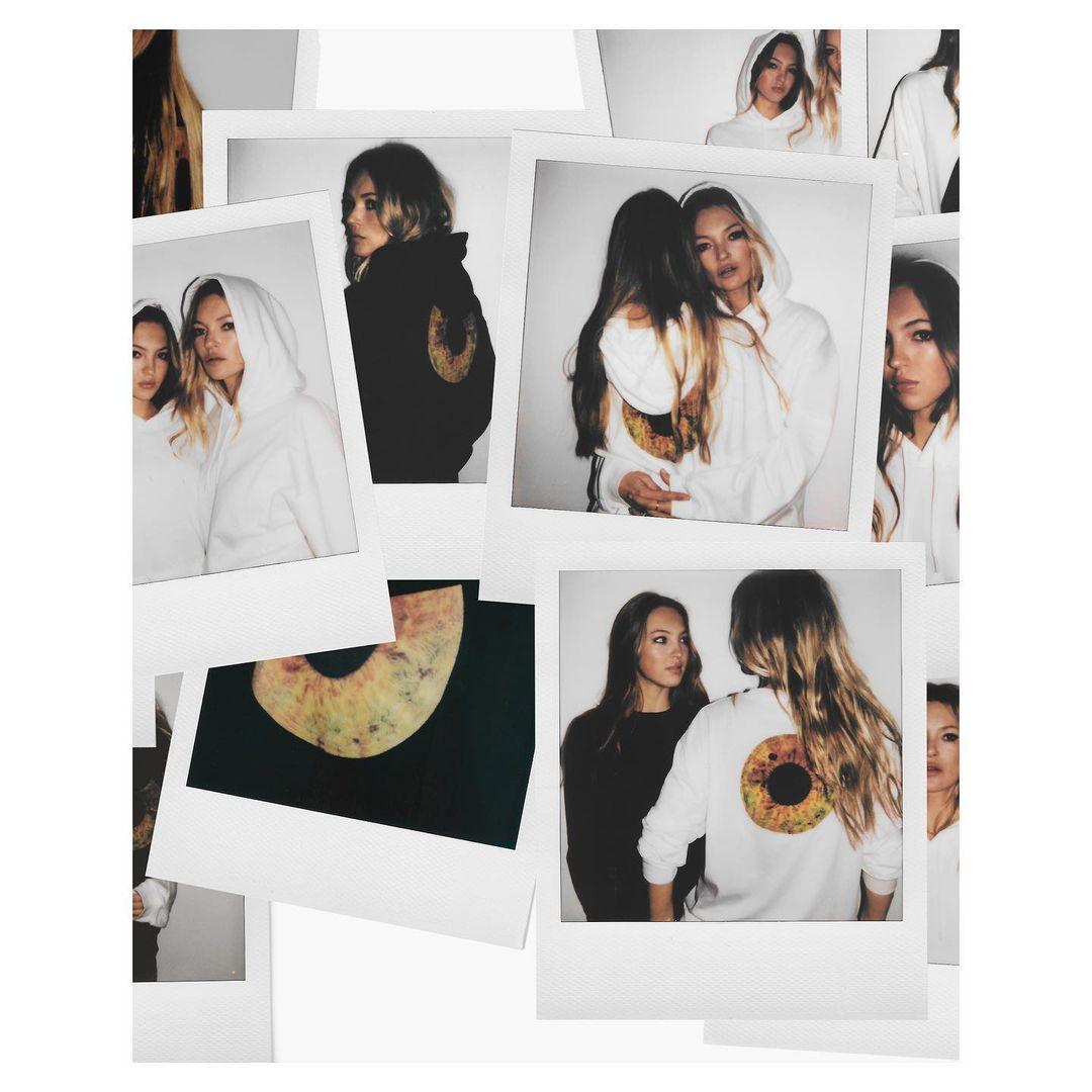 Кейт Мосс с дочерью выпустили благотворительную коллекцию одежды