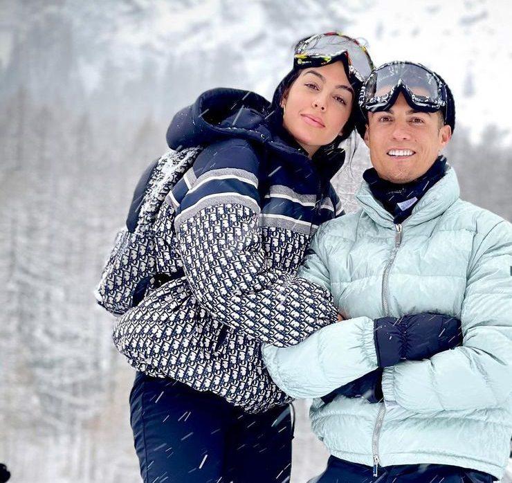 У сніжному Турині: Кріштіану Роналду і Джорджина Родрігес відпочивають в горах