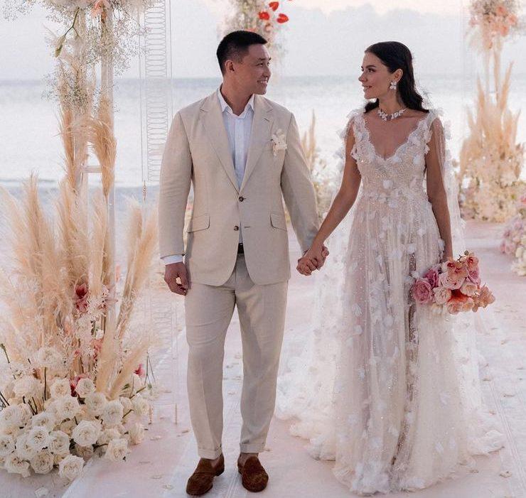 «Ми так довго цього чекали»: Іванна Онуфрійчук вийшла заміж на Мальдівах