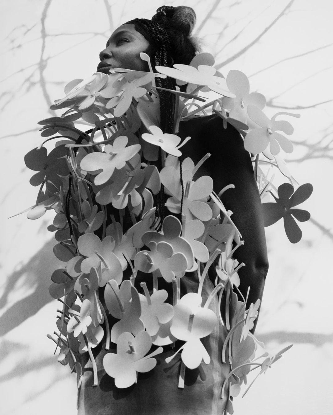 Наоми Кэмпбелл снялась в новой откровенной фотосессии для i-D Magazine