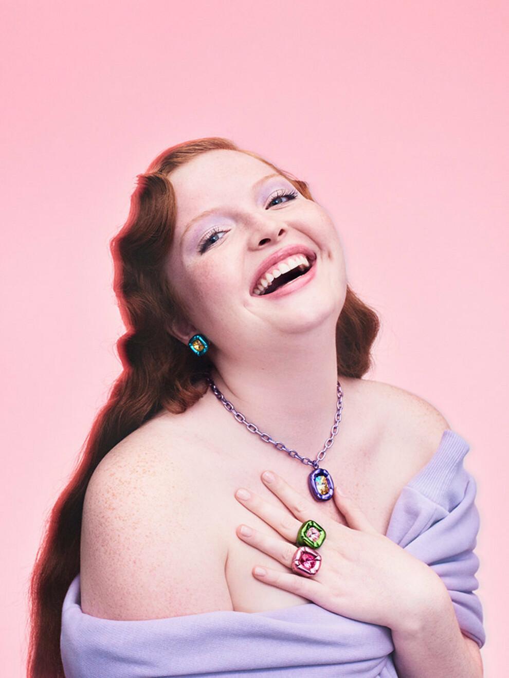 Джованна Батталья представила дебютную коллекцию для Swarovski
